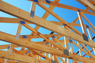 Roof structure types design eco roofing for Pre engineered trusses