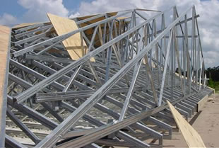 ultra span steel trusses - Metal Roof Trusses