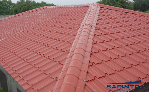 Versatile Metal Roof Tiles Pre Painted Galvanized