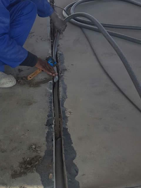 Repairing & Sealing Horizontal & Vertical Concrete Expansion