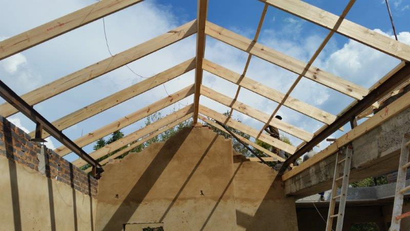 Laminated Wooden Beam and Wood Rafters