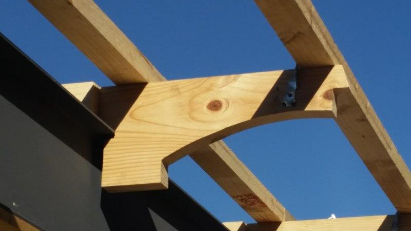Custom roof trusses and sprockets