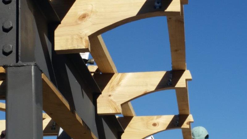 Roof trusses sprockets