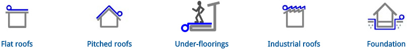 Torch On Waterproofing Applications