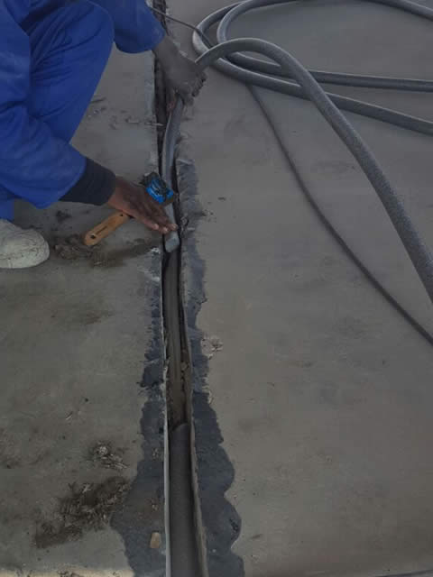 Expansion Joints Install