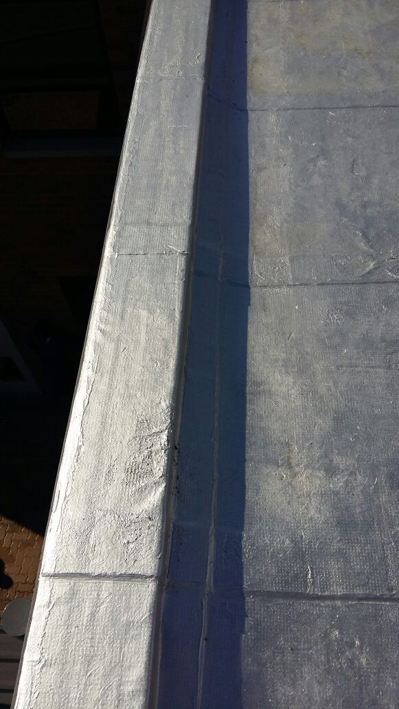 Torch On Sliver Waterproofing
